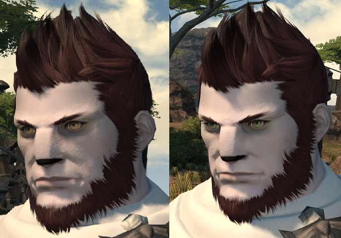 sodalitas ffxiv this hair ffxi character like color what green more help pinkish look akin cause laughing stop cannot eyesmouth expression website official best here found also actually match recreating grown accustomed quite personally pictures your benchmark going heres style just char post slightly darker edit2 pinkredish