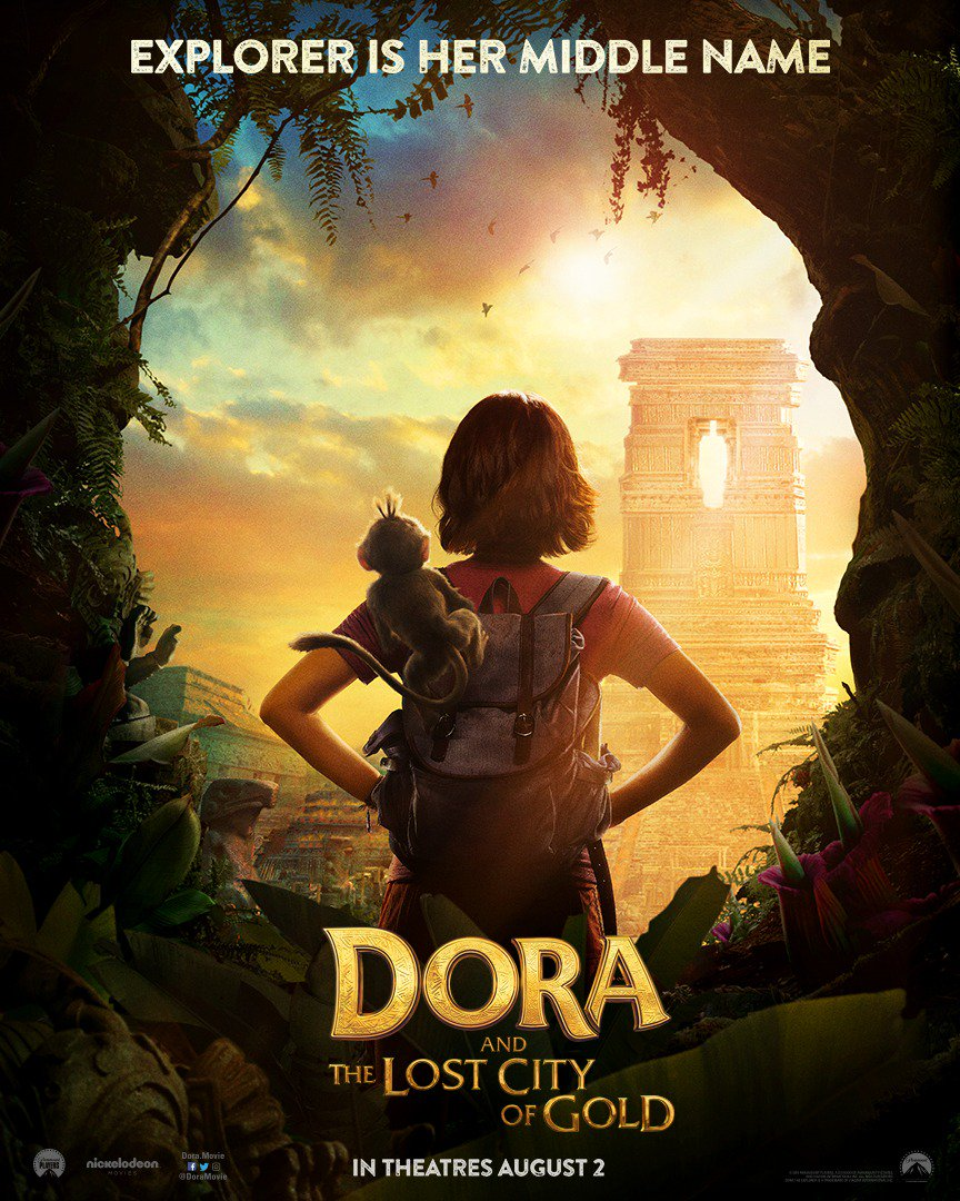 Beautifull Doora The Explorer: The City of Lost Gold (August