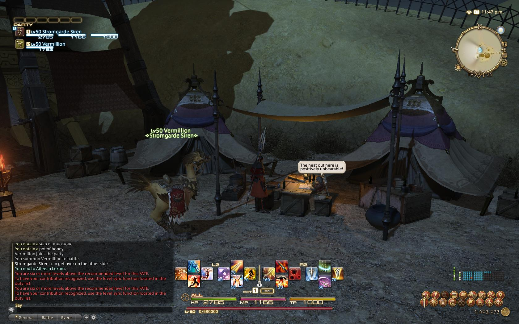 stromgarde ffxiv limsa through tonight well screenshots lifted phase beta