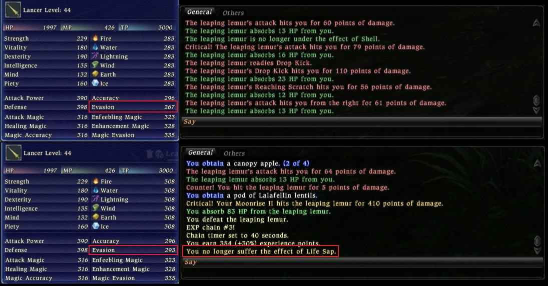 niiro  stop galago aaing pretty easy life surge long buff lnc50 debuffs make lvling numbers abilitytraitsstats check tandem solo