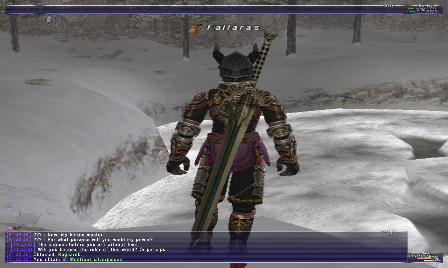 falaras ffxi doing this that comes love down proph also caliburn grats tool shame like prophett moirai leviathan list relicmythic weapons seems completed known time long forever