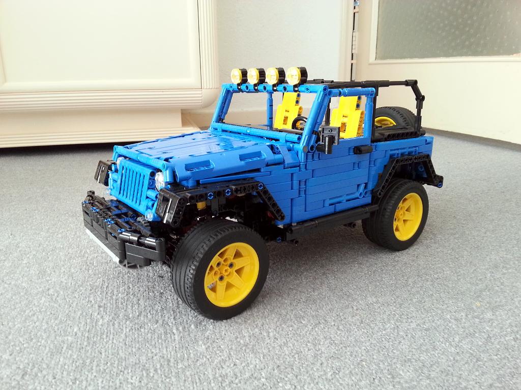 moc jeep wrangler rubicon jk page 2 lego technic. Black Bedroom Furniture Sets. Home Design Ideas