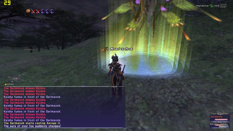 kaisha ffxi less everything else swordstaff discussion 60-70 voidwatch