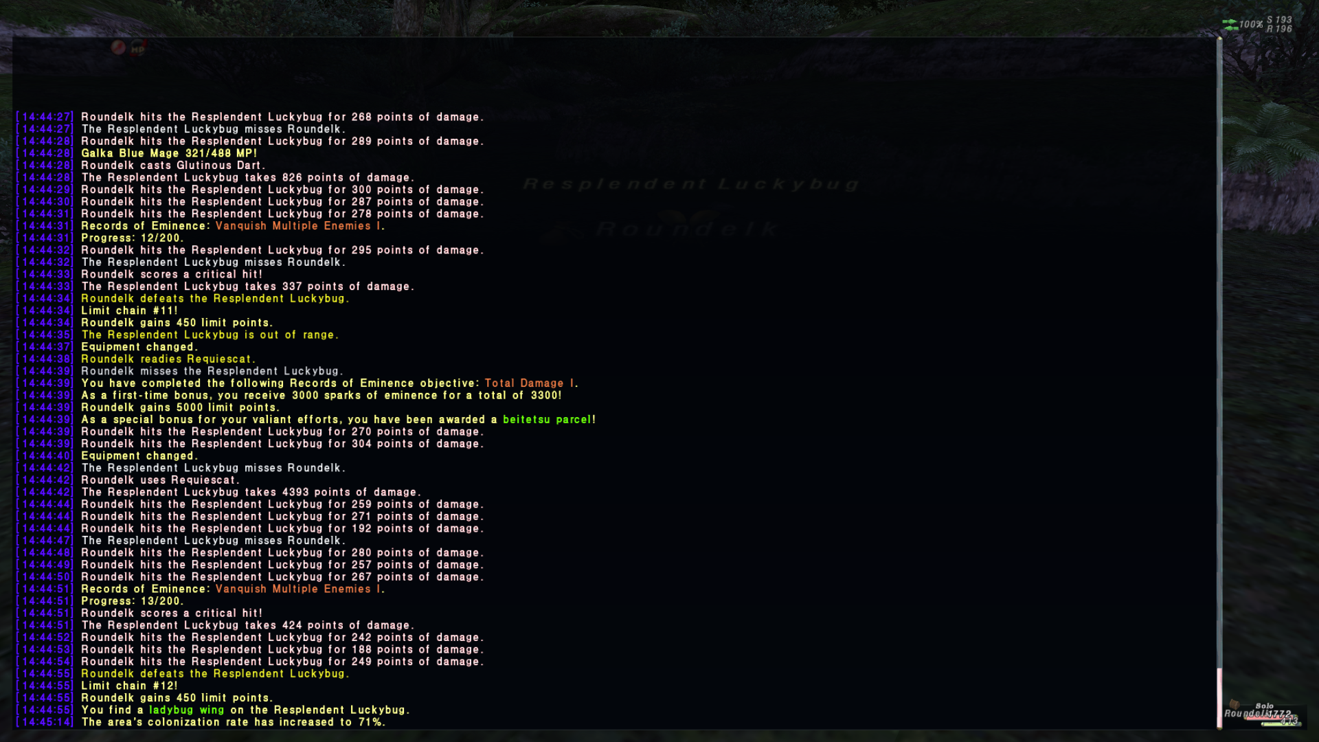 roundelk ffxi this update found anyone included straw thread version 121013 sorry discussion bump